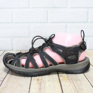 KEEN Whisper Water Sport Bungee Sandals Size 9